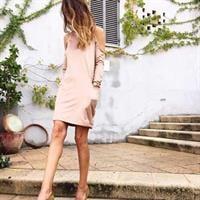 שמלה פוקסי אפרסק