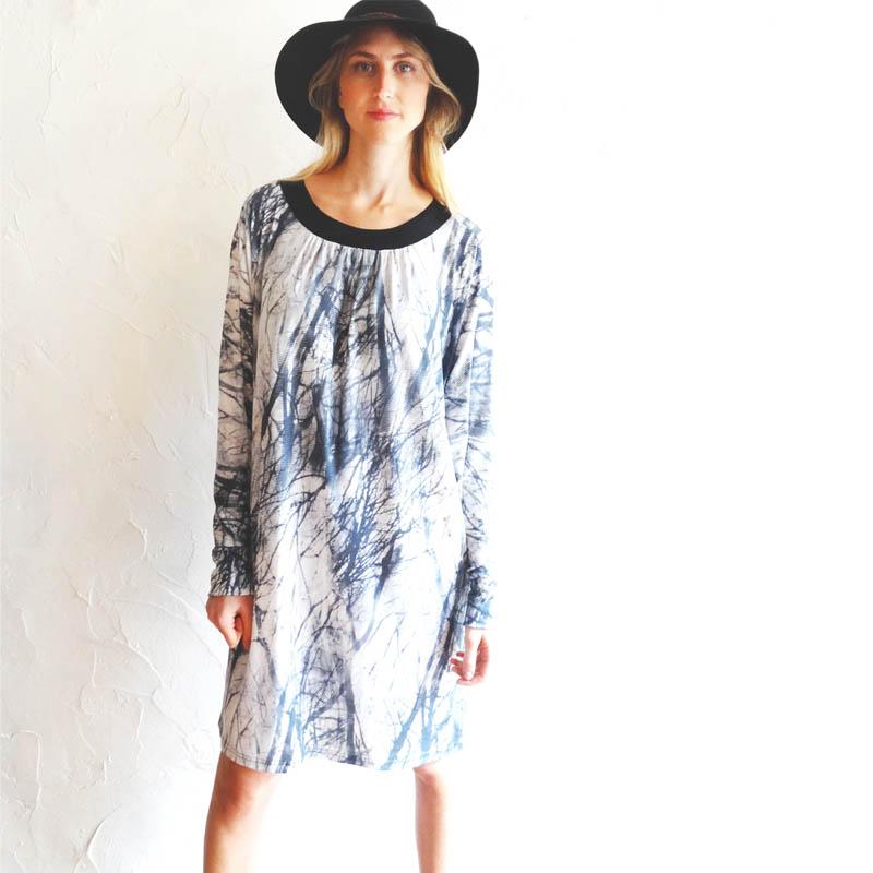 שמלת אימאן זרדים