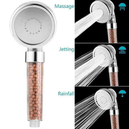 דוש מקלחת עוצמתי מגביר לחץ מים בכ300%