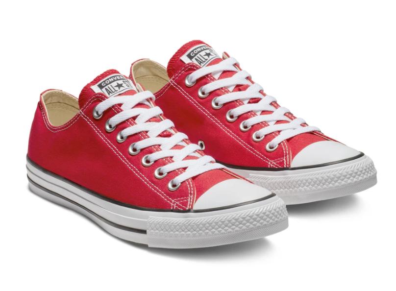 נעלי CONVERSE אולסטאר אדום נמוך יוניסקס