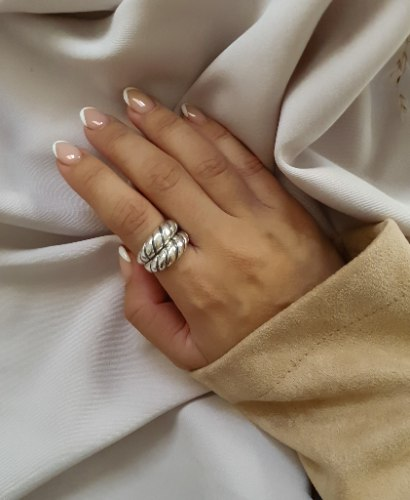 טבעת אריזונה כסף