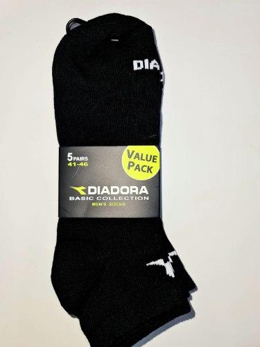 סט 15 גרבי ספורט קצרות איכותיות לגבר מבית DIADORA המעניקות ריפוד ואוורור מקסימלי רק ב-.79.90₪!