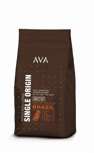 פולי קפה אווא 250 גרם ברזיל חד זני פרימיום