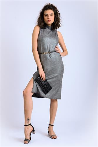שמלת מידי קולר