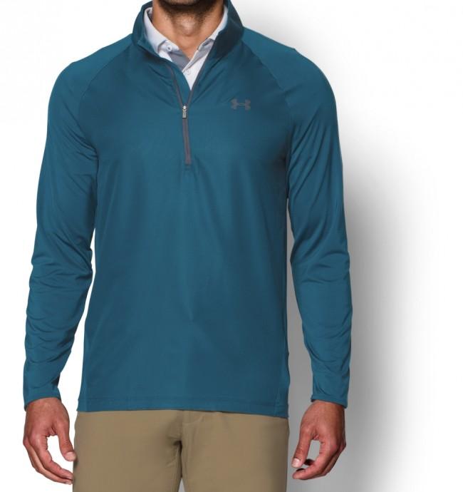 חולצת  אנדר ארמור עם רוחסן שרוול ארוך לגבר 1264964-400   Under Armour Sweet Spot ½ Zip