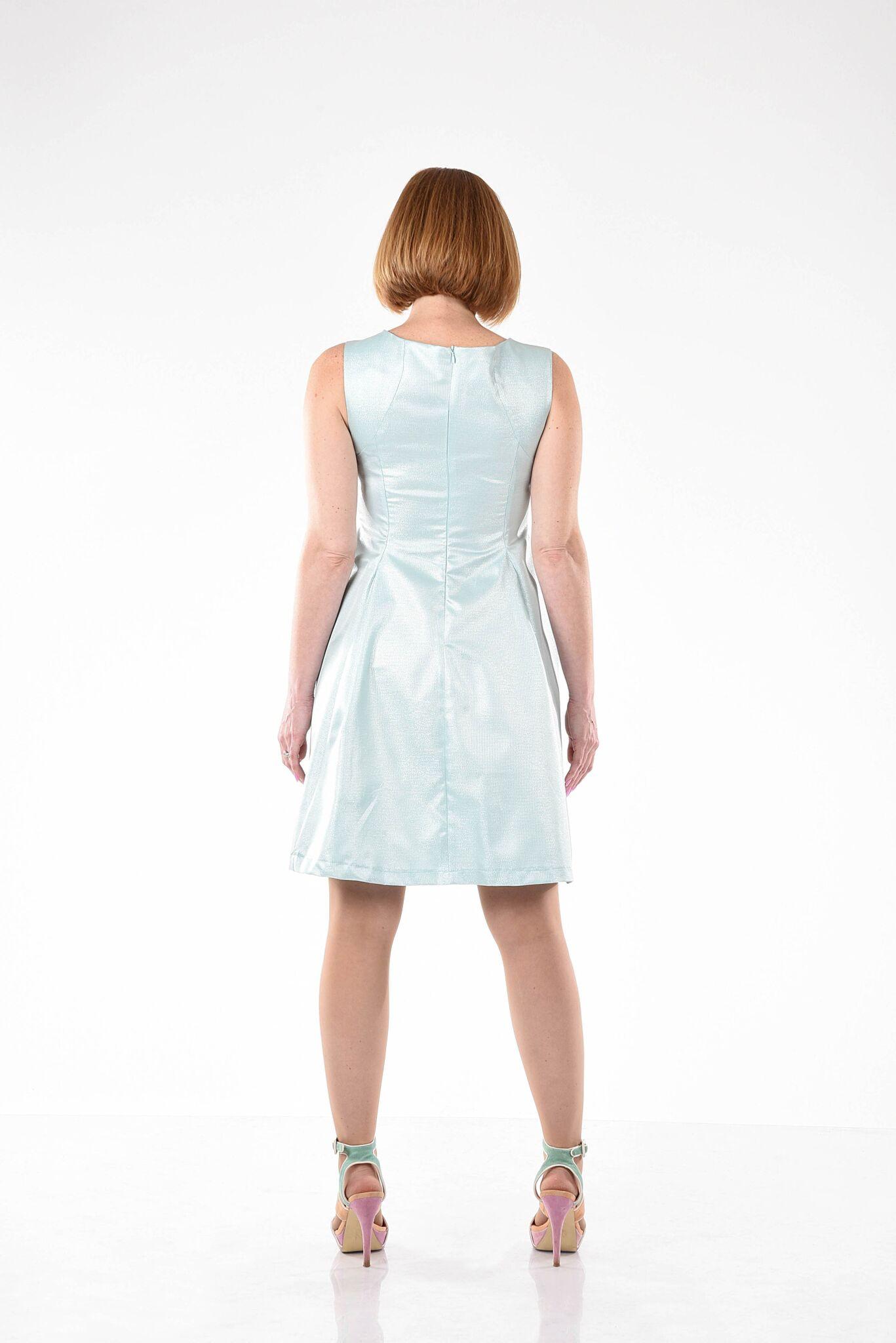 שמלה נוגה טורקיז
