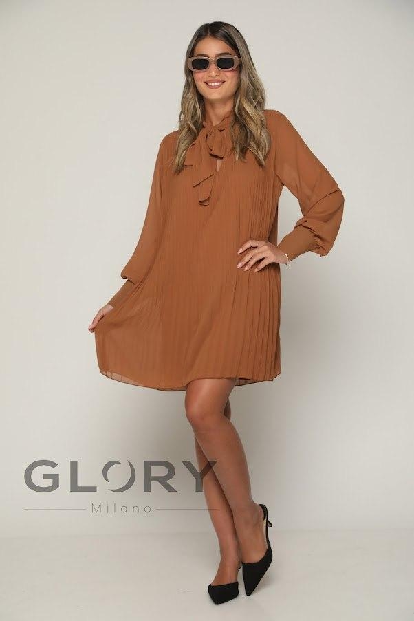 שמלת פליסה פפיון GLORY