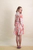 שמלת שיפון נרקיס מידי