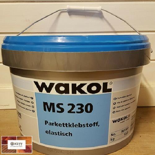 דבק לפרקט אקולוגי 18 ליטר WAKOL