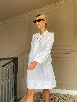 שמלת BOW כותנה