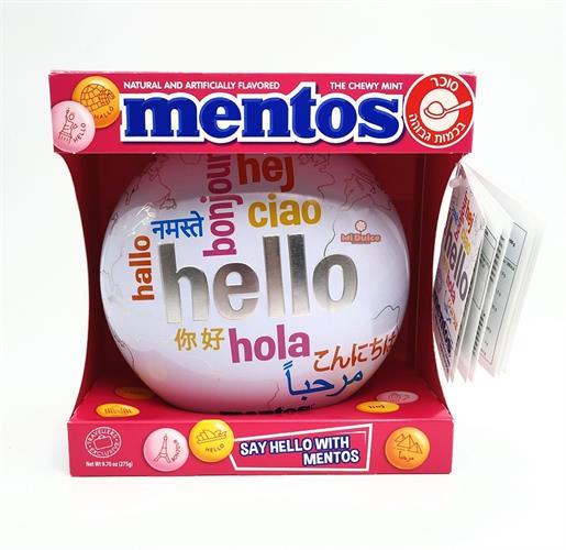 Mentos Hello Red מתקן מנטוס חגיגי!