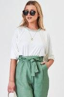חולצת סופי לבן/ירוק/סגול/פיץ