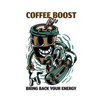 חולצת טי - Coffee Bust