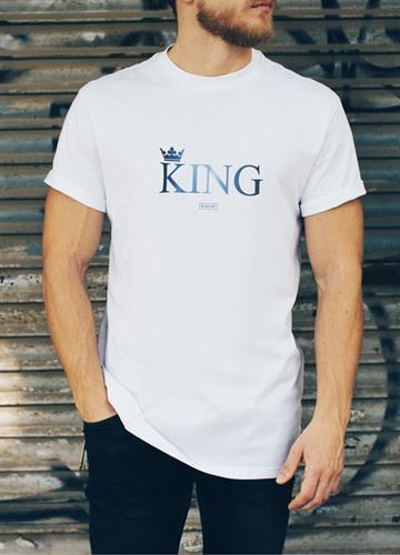 אבא KING שרוול קצר