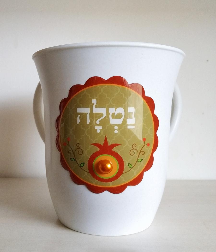 נטלה - דגם רימון אדום - דוגמא