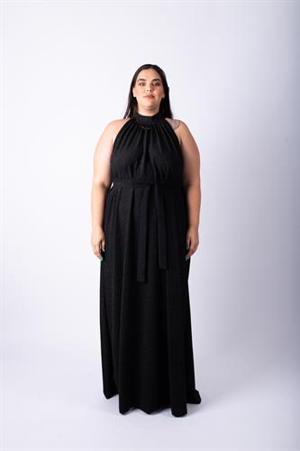 שמלת אליס מקסי שחור לורקס