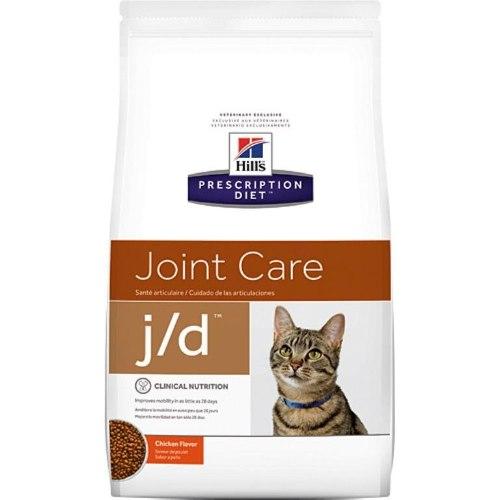 """אוכל רפואי לחתולים הילס J/D 2 ק""""ג Hill's Prescription Diet J/D"""