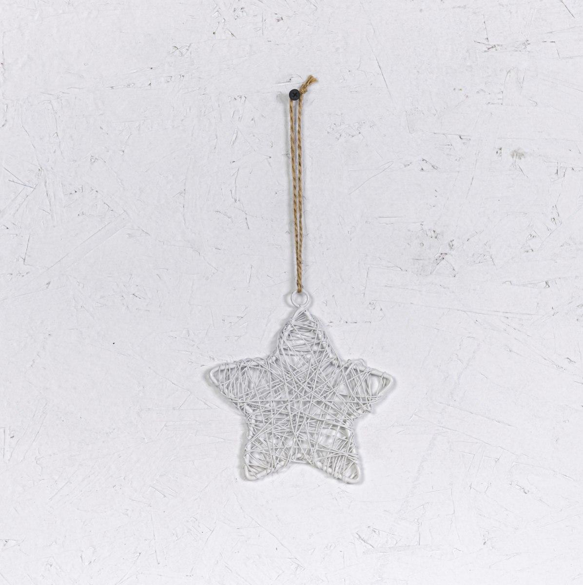 כוכב מיתרי ברזל - לבן