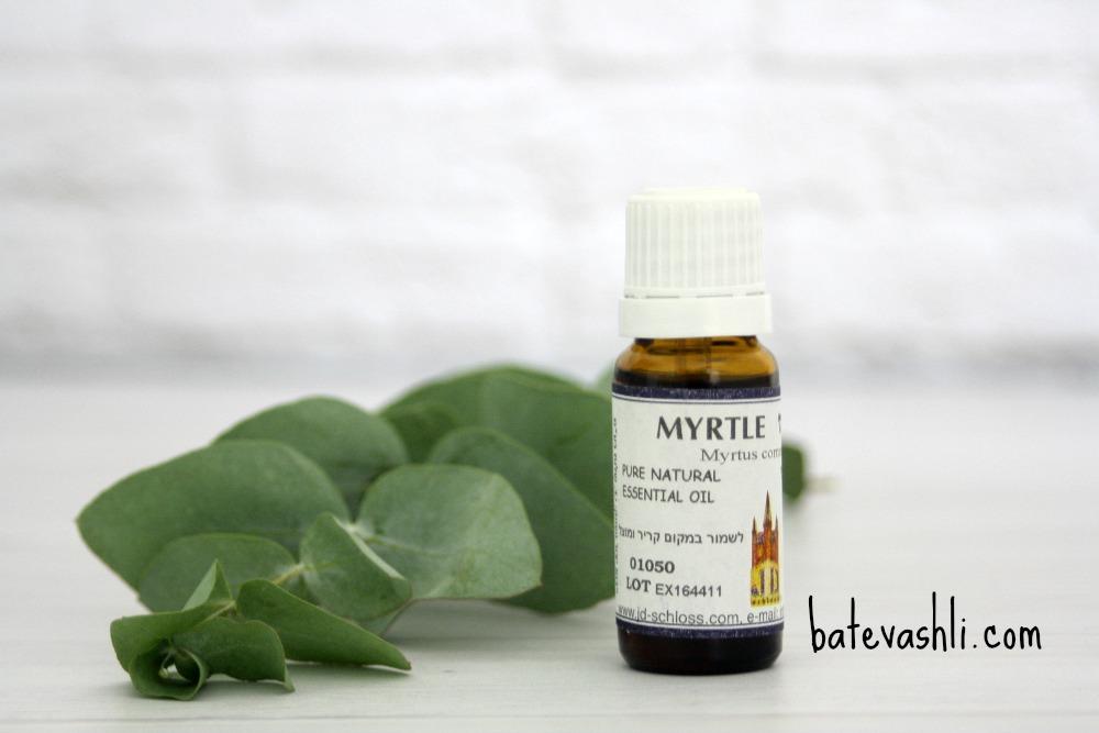 שמן אתרי הדס Myrtle