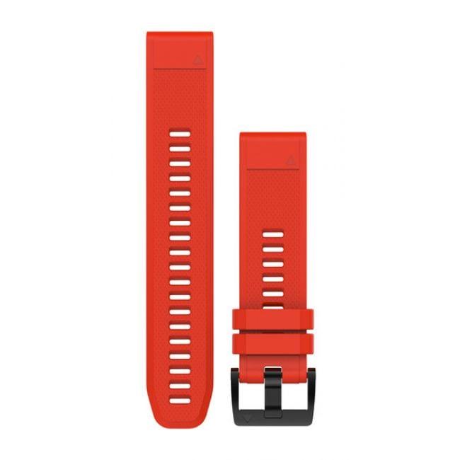 רצועה אדומה מקורית לשעון Garmin Fenix 5 QuickFit 22 Watch Bands