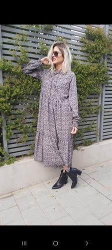 שמלה קומות מקסי ALMHA