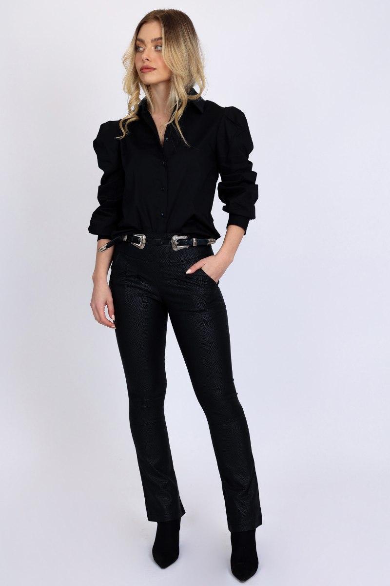 מכנס סן טרופז מחטב שחור/זית