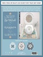עיצוב איזור האסלה – מדבקה (39 ₪) שטיחון (88 ₪) סט (119 ₪) ונציה TIVA DESIGN