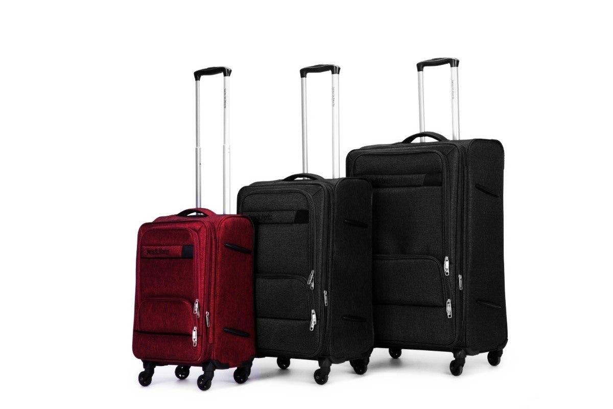 """מזוודה 20"""" עליה למטוס איכותיות SWISS  - אדום"""