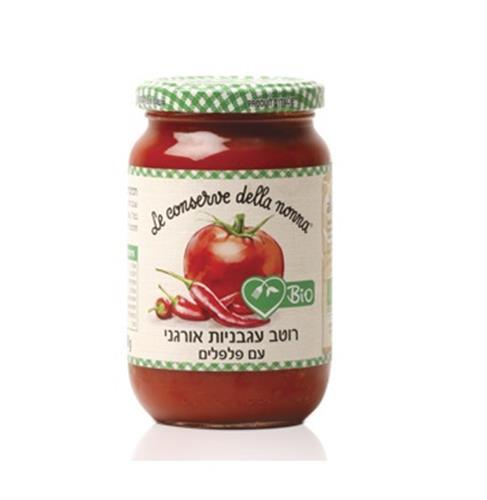 רוטב עגבניות עם פלפלים