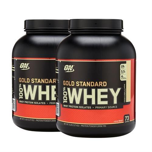 מבצע זוגי|Optimum Nutrition Gold 100% Whey USA