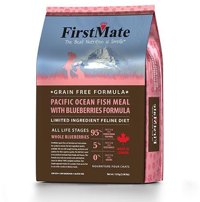 """פירסטמייט מזון לחתולים 1.8 ק""""ג דגים ללא דגנים"""