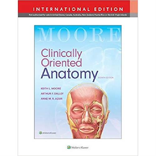 Clinically Oriented Anatomy- Moore Eighth Edition