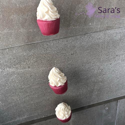 מובייל 4 גלידות מתוקות ב-2 צבעים ורוד/לבן