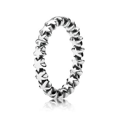 טבעת כסף שובל כוכבים PANDORA