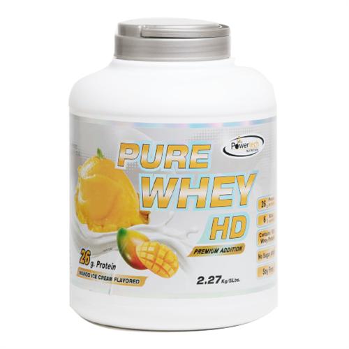 """-- אבקת חלבון פאוארטק HD בטעם מנגו -- Pure Whey Hd, מכיל   2.3 ק""""ג"""