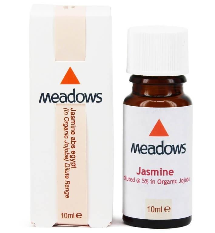 """שמן ארומתרפי יסמין אבסולוט מדולל 5% בחוחובה 10 מ""""ל - Jasmine Absolute Egypt & Organic Jojoba Dilute"""