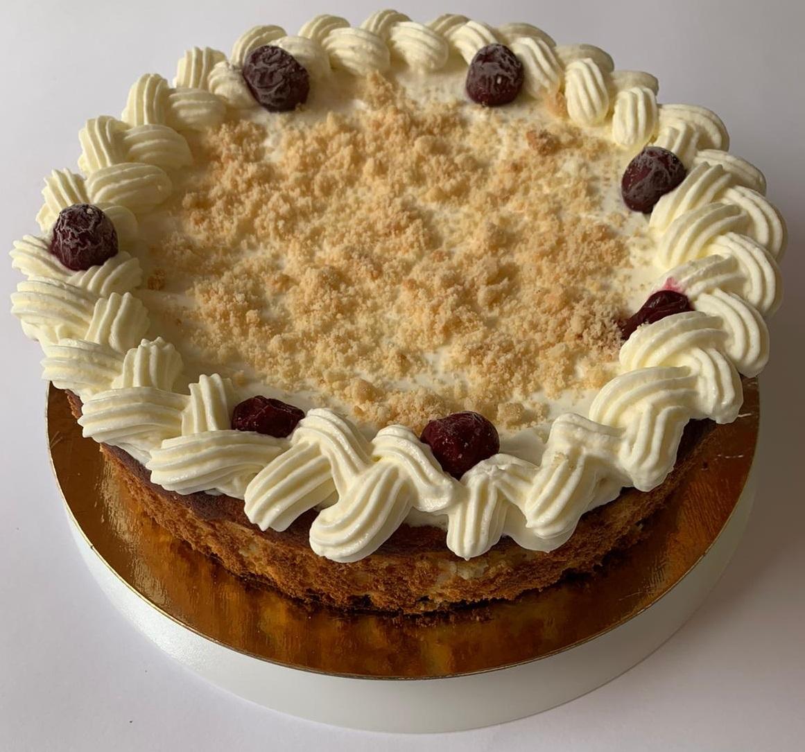 עוגת גבינה בניחוח הולנדי