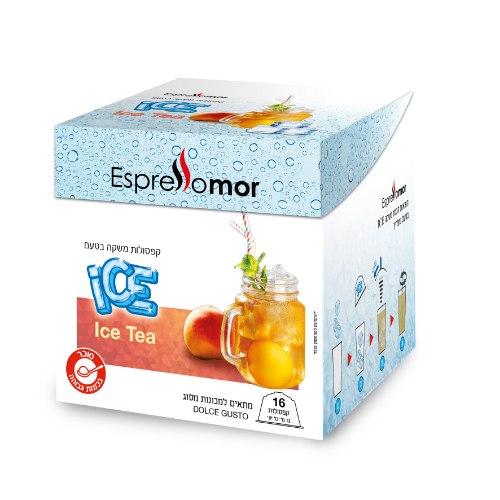 96 קפסולות - ICE תה אפרסק