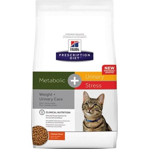 """הילס מטבוליק+יורינרי מזון רפואי לחתול 4 ק""""ג Hill's Prescription Diet Advanced Weigh+Urinary Solution"""