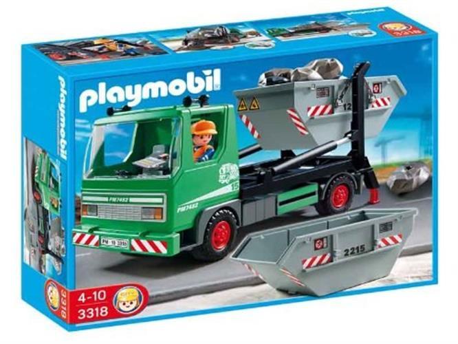 פליימוביל משאית נושאת מכולה 3318