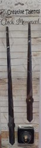 מנגנון לשעון קיר מחוג 30 סמ הברגת ציר 1.5 סמ