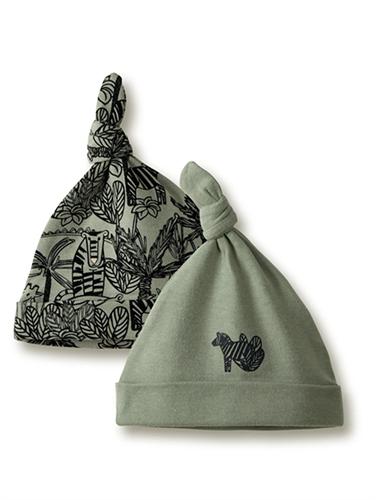 מארז 2 כובעים jungle חאקי