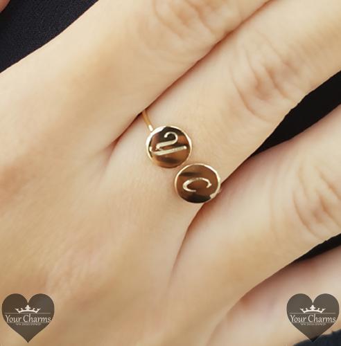 טבעת עיגולים - גולדפילד