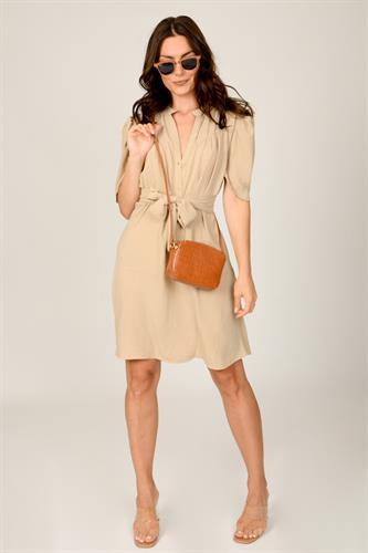 שמלת לילוש קצרה כאמל