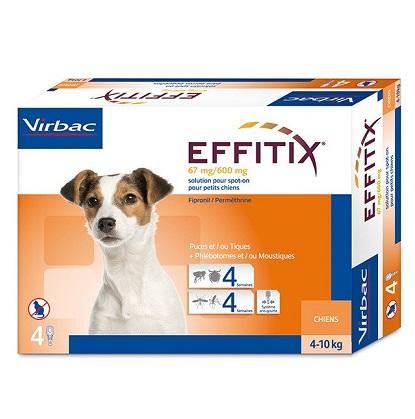 """אפיטיקס Effitix Virbac למשקל 10-2 ק""""ג"""