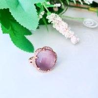 טבעת אבן סגולה