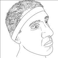 חגורת ראש לחיתוך עצמאי וסימטרי של שיער העורף