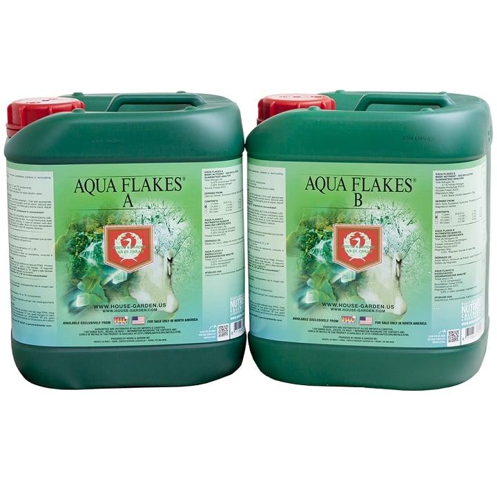 האוס אנד גארדן מים 5 ליטר HNG Aqua Flakes A+B