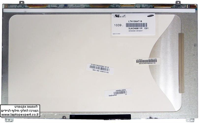 החלפת מסך למחשב נייד Samsung 15.6 1366x768 WXGA HD LED LTN156AT19 / LTN156AT18