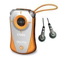 רדיו טרנזיסטור כיס סטריאו COBY CX-71